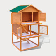 Chicken Cage: Wooden Hen Coop Egg House Rabbit cage pet house European standards Size 92x 80x 160cm 06-0006 Rabbit cage pet house European standards Size 92x 80x 160cm 06-0006