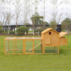 Wooden pet house rabbit cage 327x 105x 133cm SPF material