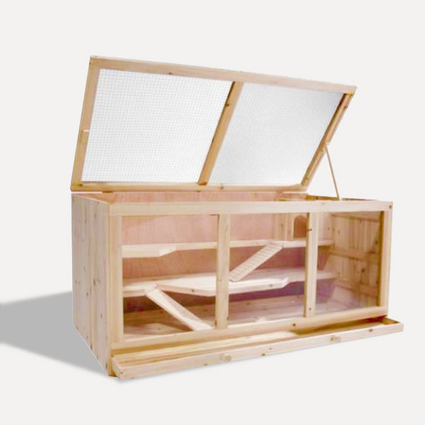 Wooden anmail pet cage house Size 115x 60x 58cm