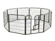 Dog Playpen: Pet Playpen Products, Dog Goods Suqare Tube Pet Fence Playpen 80x 80cm 10pcs 06-0126 Suqare Tube Pet Fence Playpen 80x 80cm 10pcs 06-0126