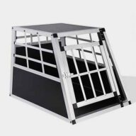 Aluminum Dog cage: Pet Products, Dog Goods Small Single Door Dog cage 65a 60cm 06-0766 Small Single Door Dog cage 65a 60cm 06-0766