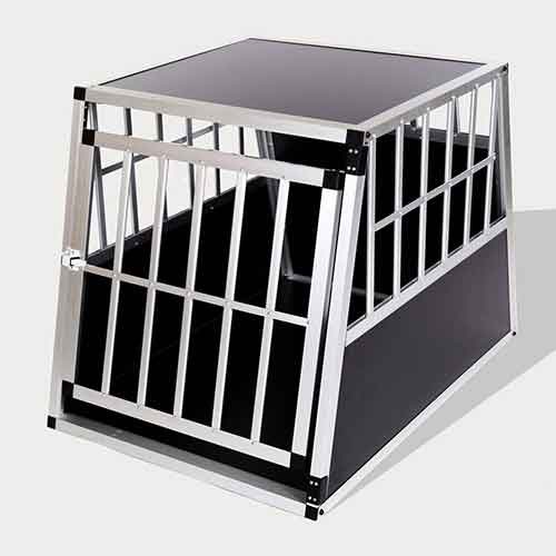 Aluminum Dog cage: Pet Products, Dog Goods Aluminum Dog cage Large Single Door Dog cage 65a 06-0768 Aluminum Dog cage Large Single Door Dog cage 65a 06-0768