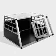 Aluminum Dog cage: Pet Products, Dog Goods Aluminum Dog cage Large Single Door Dog cage 75a Special 66 06-0769 Aluminum Dog cage Large Single Door Dog cage 75a Special 66 06-0769