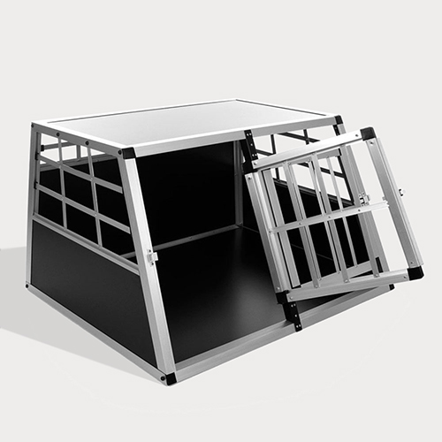 Aluminum Dog cage Large Single Door Dog cage 75a Special 66 06-0769 Dog House: Pet Products, Dog Goods Large Single Door Dog cage 75a Special 66