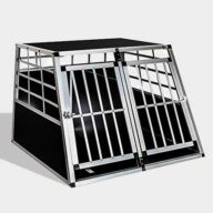 Aluminum Dog cage: Pet Products, Dog Goods Aluminum Large Double Door Dog cage 65a 06-0773 Aluminum Large Double Door Dog cage 65a 06-0773