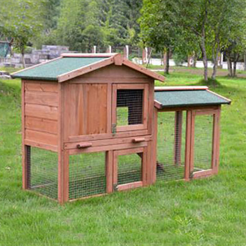 Rabbit Cage wooden pet house selling fir wood cage