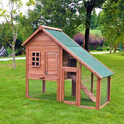 Wood pet house hen cage rabbit house 08-0107