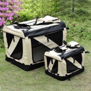 Pet dog travel carrier
