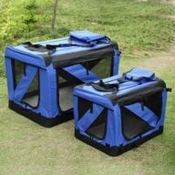 Blue Pet dog travel carrier