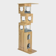 Pet Cat Furniture, europe wooden cat tree 06-0187