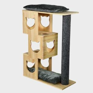 Cat House: Wooden Pet Tree House Furniture Pet Cat Furniture, cat tree natur wood 06-0190 Pet Cat Furniture, cat tree natur wood 06-0190