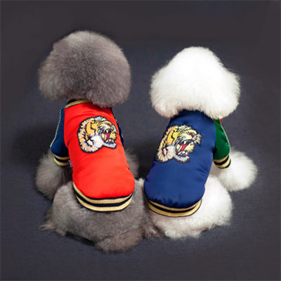 Dog Coat Pet Factory Wholesale Winter High Quality Cotton Pattern Dog Clothes 06-0218