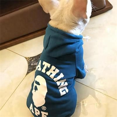 Casual Printed Hooded: Style Pet Clothes 06-0446