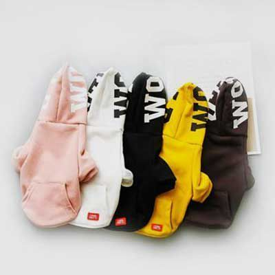 Dogs Cloth Pet Clothes: Leisure Dog Hoodie Printing 06-0450