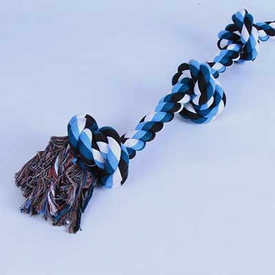 Dog Toy: Customized Rope Knot Design Rope 06-0624