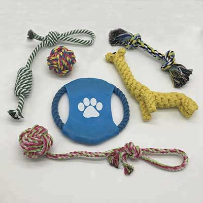 Pet Toys Customized: 7 Pack Combined Dog Toys 06-0634