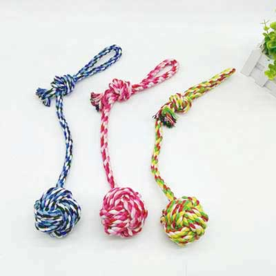 Pet Toys Manufacturers: Pet Cotton Rope Toys 06-0652