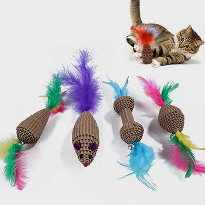 Corrugated Paper: Pet Grinding Clawing Toys 06-1220