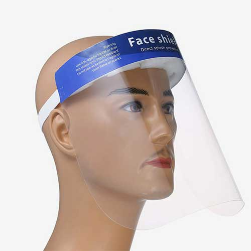 Protective Mask anti-saliva unisex Face Shield Protection 06-1453