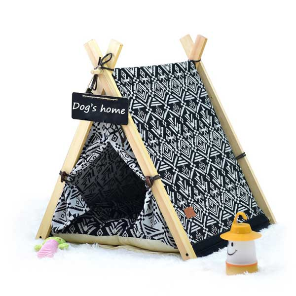 Dog Teepee Tent: Chinese Suppliers Dog House Tent Folding Outdoor Camping 06-0947