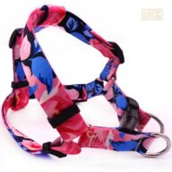 Wholesale cute military printing fabric tactical pet dog harness 06-1476.jpg