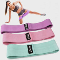 Custom Yoga Stretch Band Fitness Tension Band 01-0177
