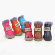 Pet shoes Pet Plus Velvet Puppy Shoes Warm Foot Covers Ugg Bootss Pet Plus Velvet Puppy Shoes Warm Foot Covers Ugg Bootss