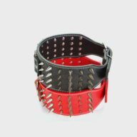 Dog collars: Pet collars and other pet accessories Customized Dog Collar Wide Long Spiked Rivet PU Leather Pet Dog Collar Leather Dog Collar Customized Dog Collar Wide Long Spiked Rivet PU Leather Pet Dog Collar Leather Dog Collar