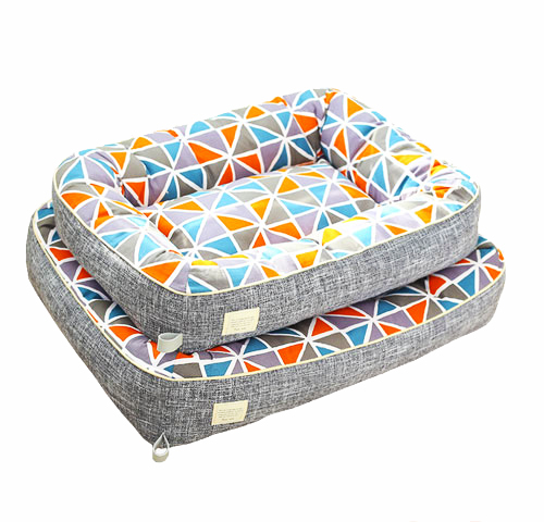 2020 New Design Style Fashion Indoor Sleeping Pet Beds Memory Foam Dog Pet Beds