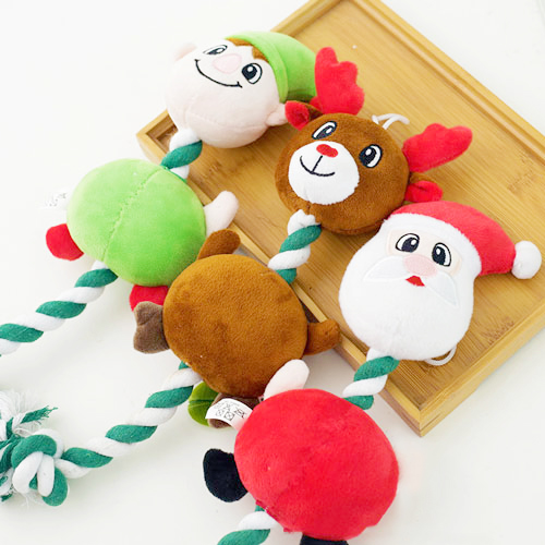 Cute Christmas Plush Christmas Decorations Toy Sounding Toys