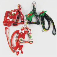 Christmas decoration (1301) Manufacturers Wholesale Christmas New Products Dog Leashes Pet Triangle Straps Pet Supplies Pet Harness Manufacturers Wholesale Christmas New Products Dog Leashes Pet Triangle Straps Pet Supplies Pet Harness