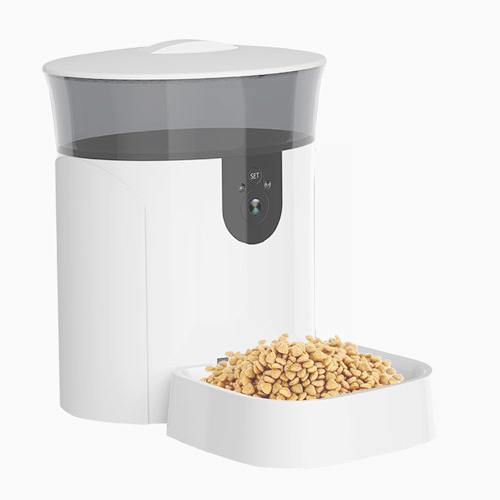 Newest 6L Smart Dog Feeder Automatic Wifi Pet Feeder Dog Food Machine Camera With Mobile APP