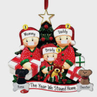 Christmas decoration (1301) DIY Personalise Family Christmas Tree PVC Decorations Tree DIY Personalise Family Christmas Tree PVC Decorations Tree