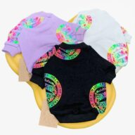 Small Dog Cat Cool Pet Clothing Cartoon Adult Top Dog Parent-child Clothing 06-0459-1 Dog Clothes: Shirts, Sweaters & Jackets Apparel 06-0459-1